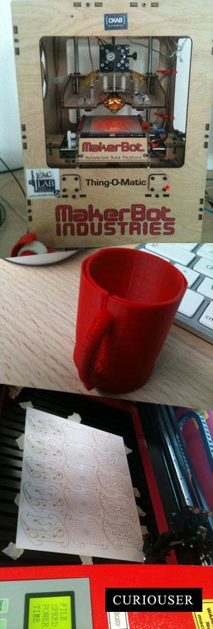 Imprimante 3D - Fab Labs - Curiouser