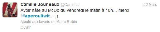 Camille Jouneaux twitter