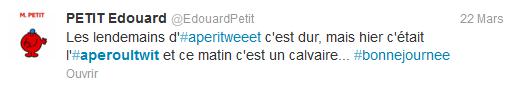 Edouard Petit twitter